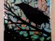 Crow II painting